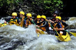maine whitewater rafting