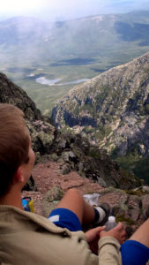maine hiking baxter park mt katahdin