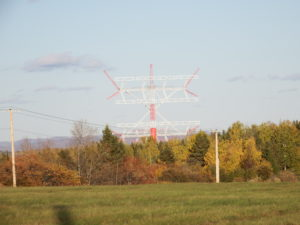 Shortwave Radio Tower In Monticello Maine