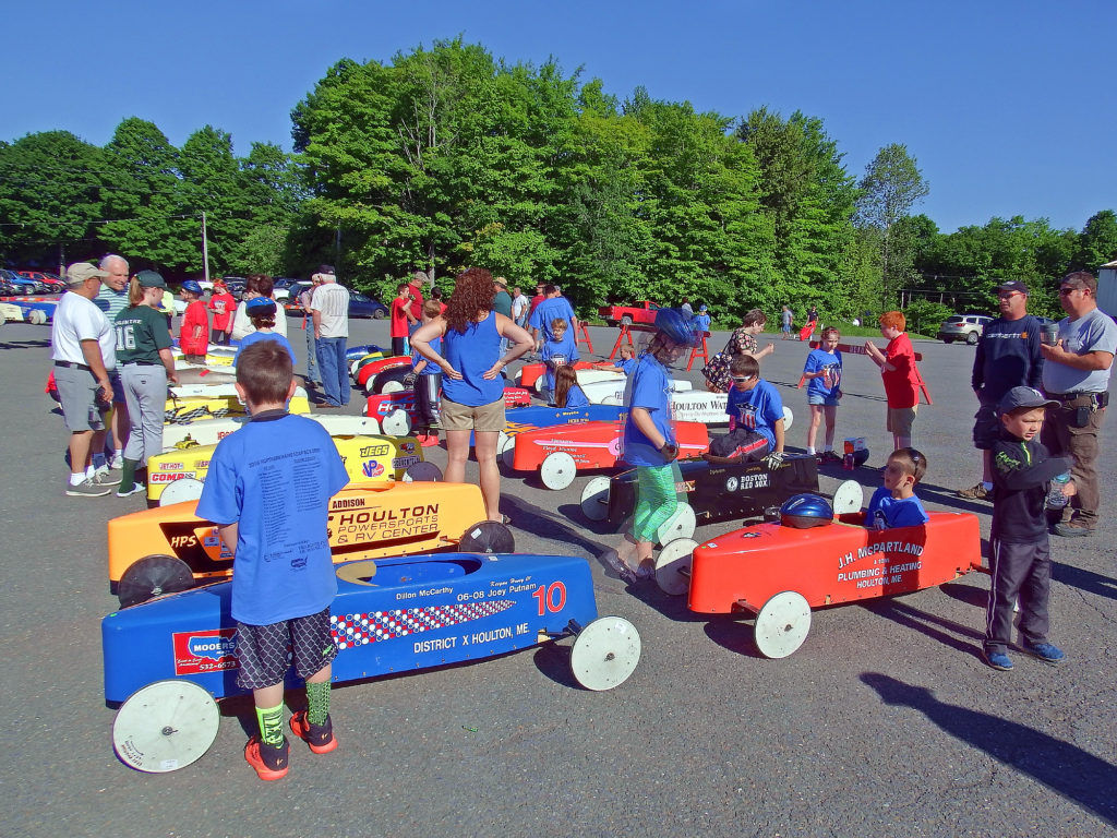 Maine Soap Box Derby Racing!