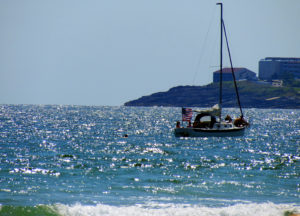 Sailboat in Maine