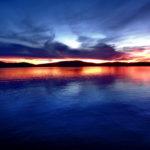 lake-maine-sunset