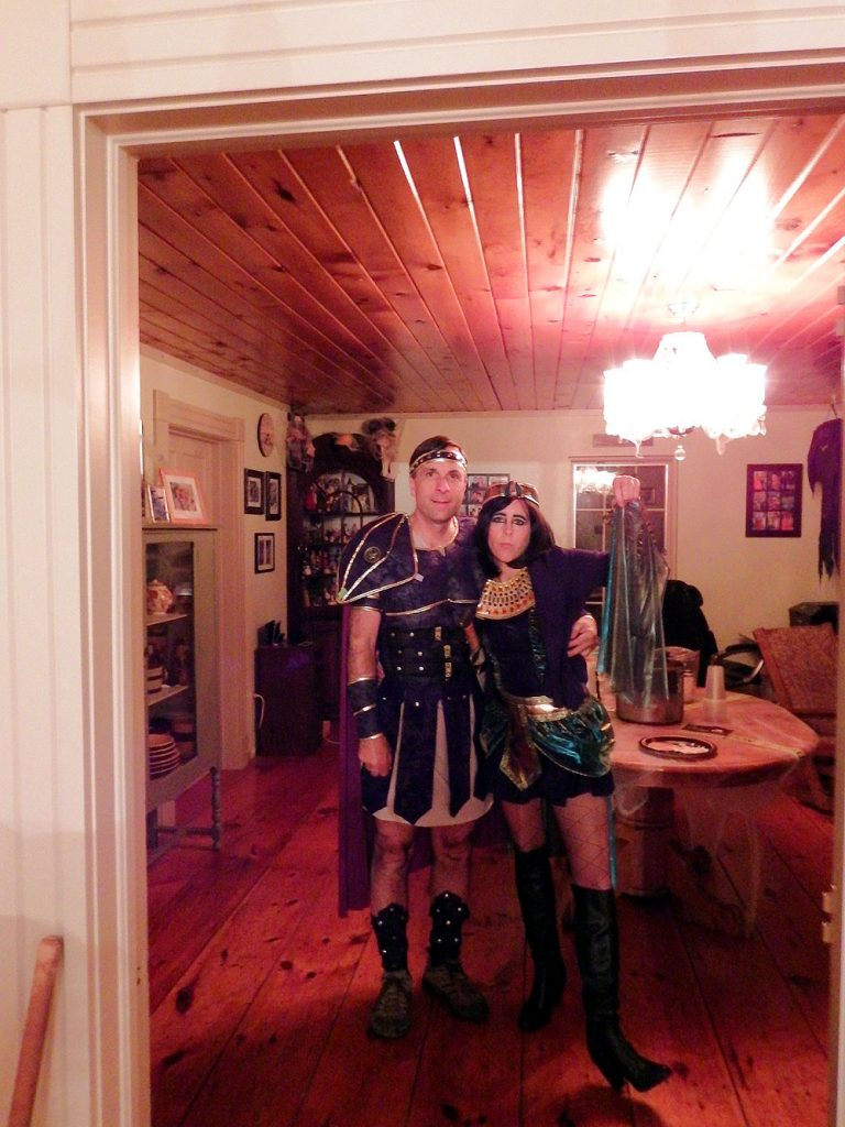 Dressing Up For Halloween Parties In Maine.