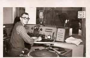 Early Maine Radio Announcer