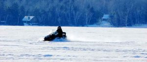 snowmobile Maine