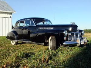 1941 Cadillac car is rare but in good shape