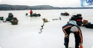 ice fishing gear