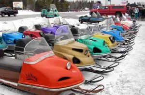 over 50 kinds of snow sleds