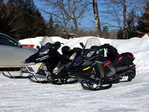 ski doo polaris snow sleds