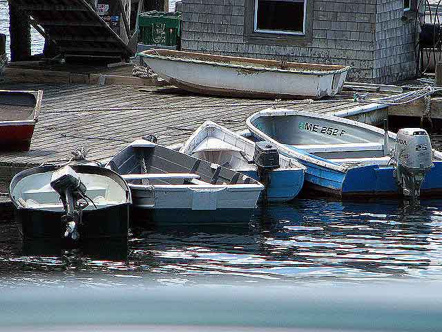 maine is boating, waterfront