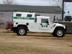 maine border patrol hummer