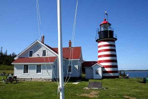 Collect Lighthouses In Maine