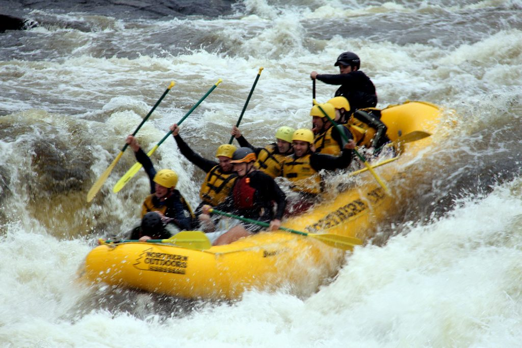 maine white water rafting