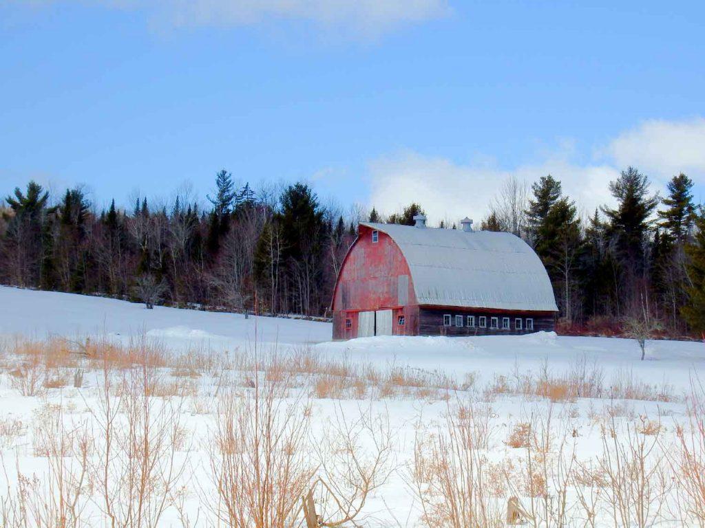 round roof barns