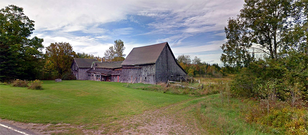 old maine farm barn