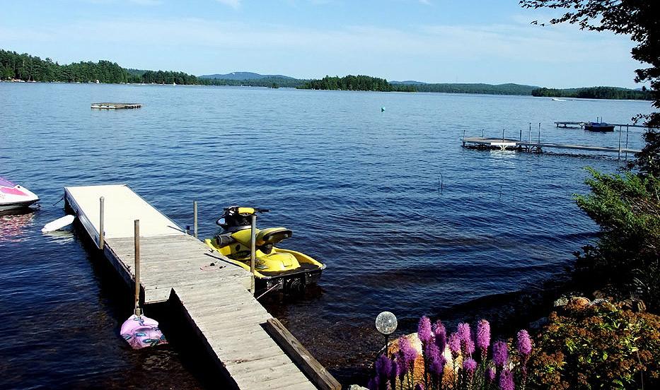 maine lake life