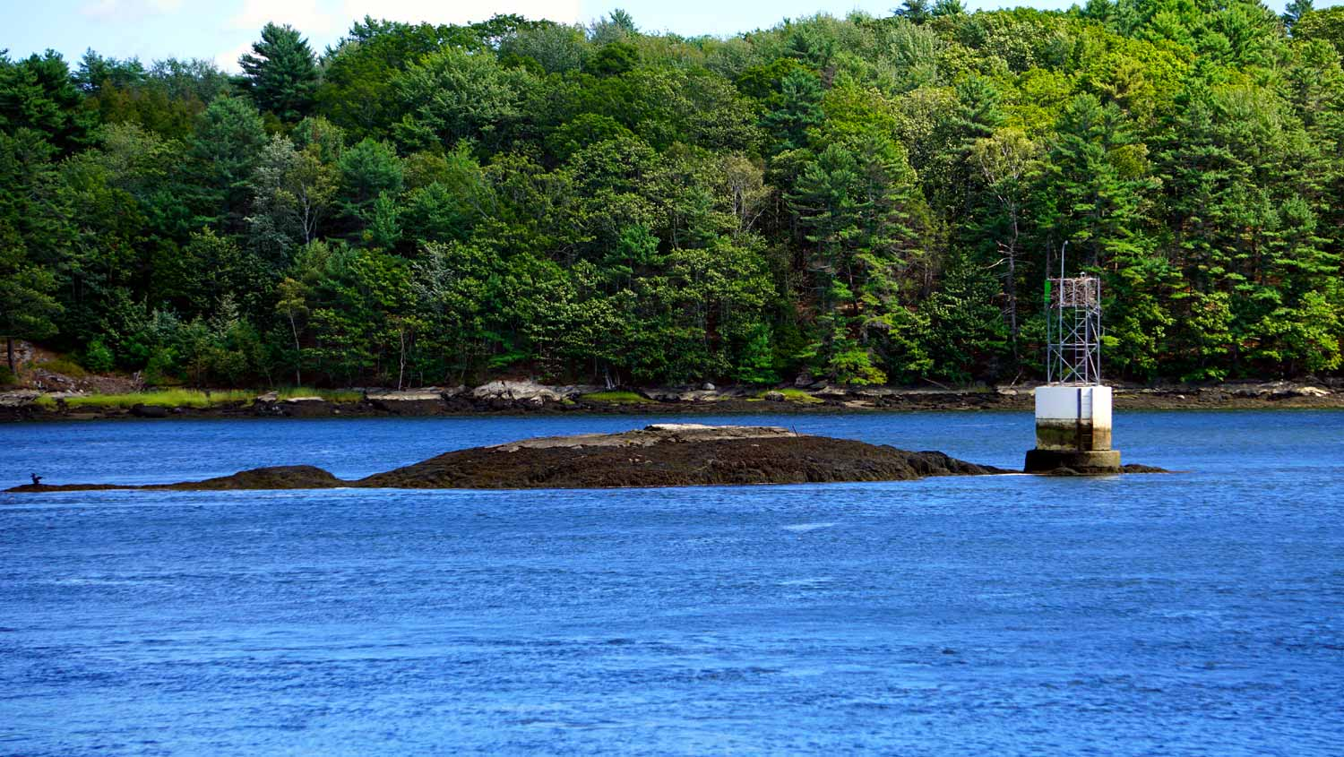 automated lighthouses in maine
