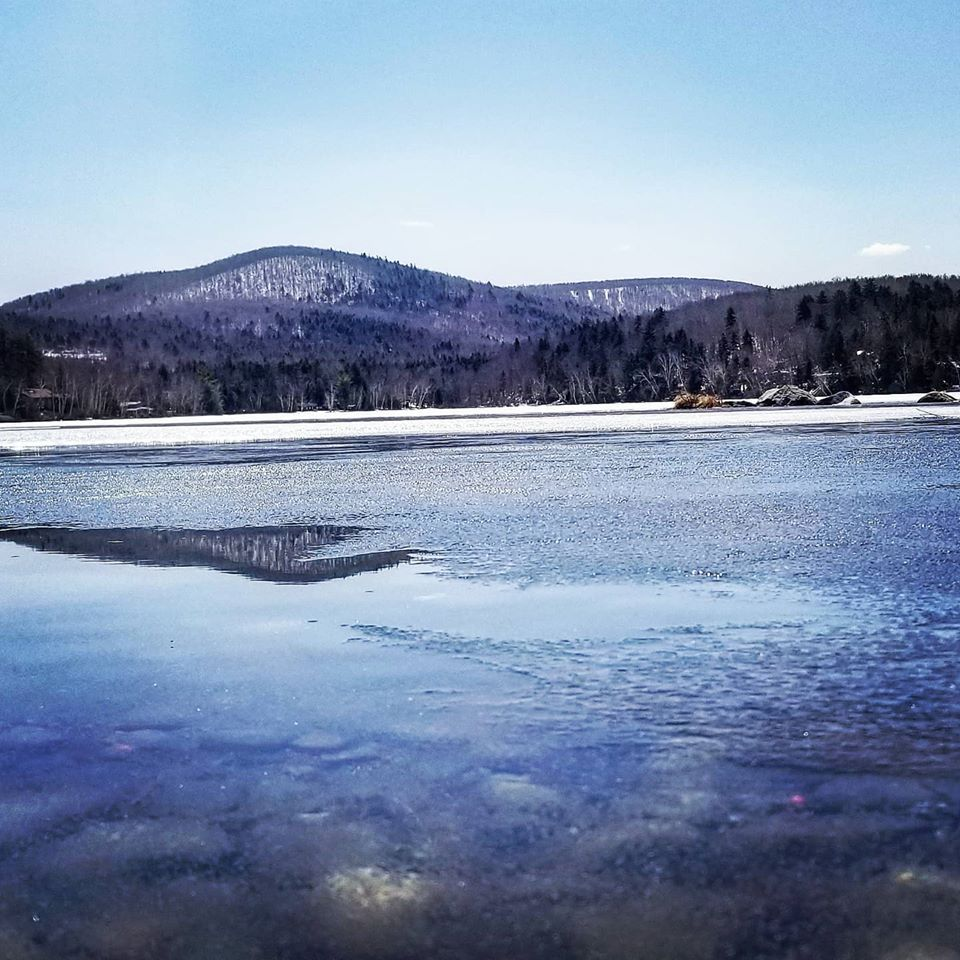 maine winter ice forming