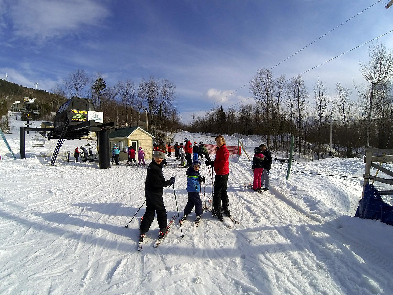 small maine ski area