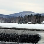 maine winter snow photo