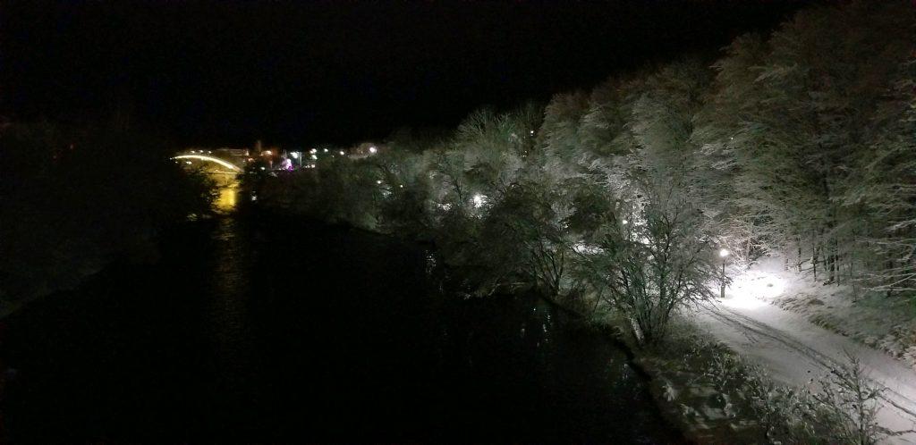winter in maine snow photos