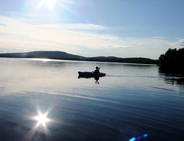 moving to maine kayaking