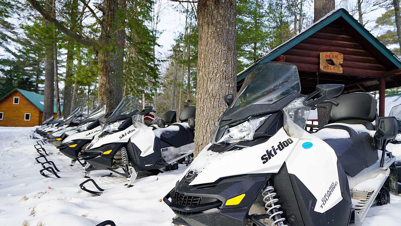 snowmobiles rentals maine
