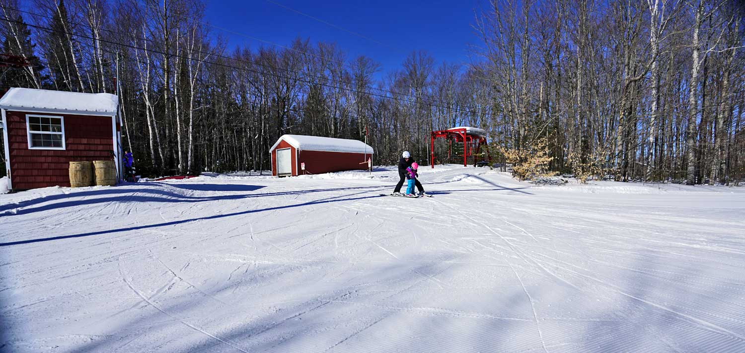learning to snow ski photo