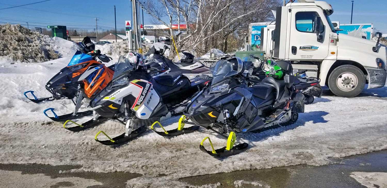 maine snowmobiles