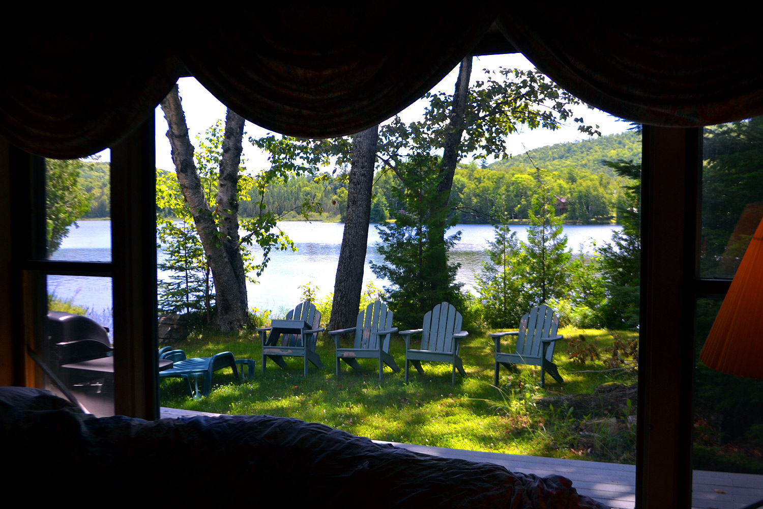 maine lakeside vacations