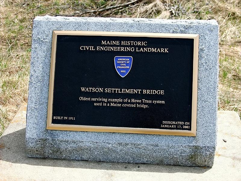watson covered bridge
