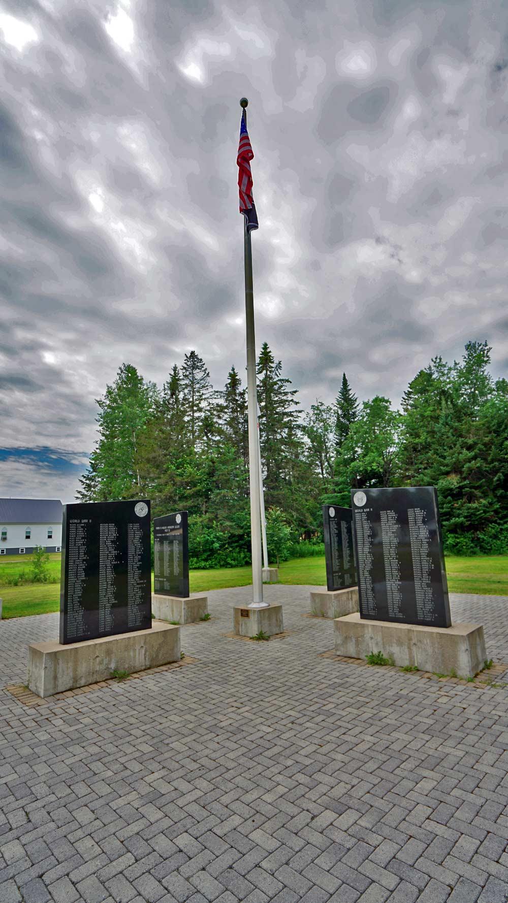 four corners memorial monument