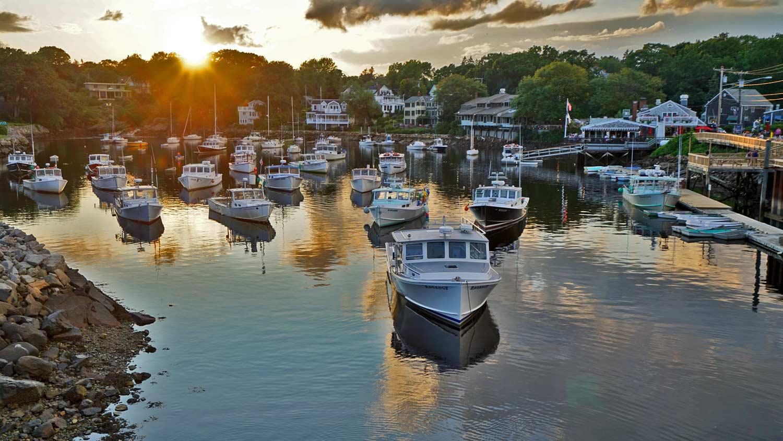 perkins cove harbor boats