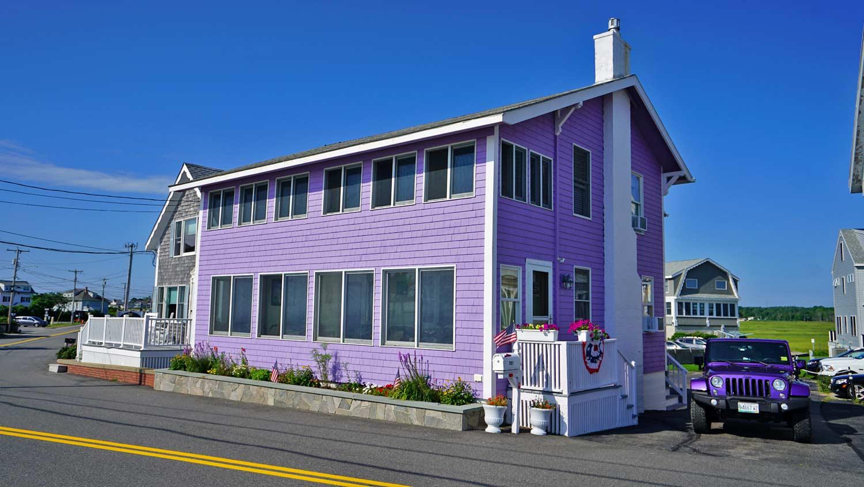purple power beach home