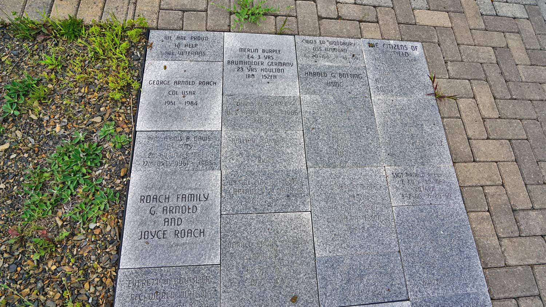 veterans memorial monuments