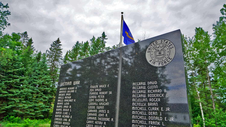 veteran memorials in maine