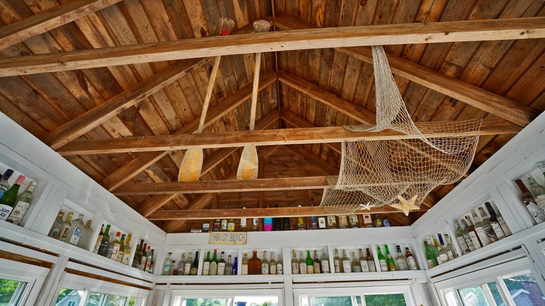 maine vacation cottage porch