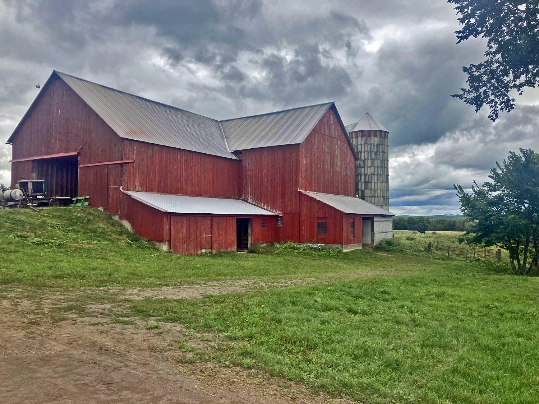 farm buildings on amish homestead