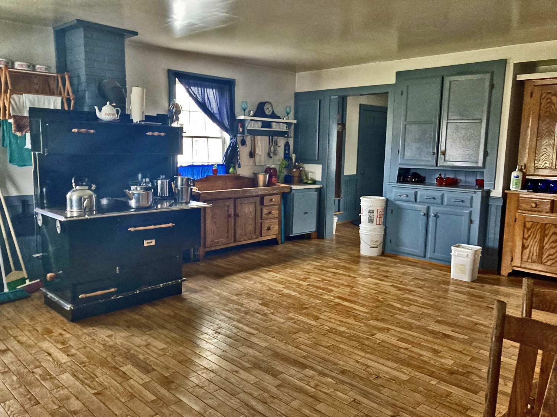 amish kitchen in maine
