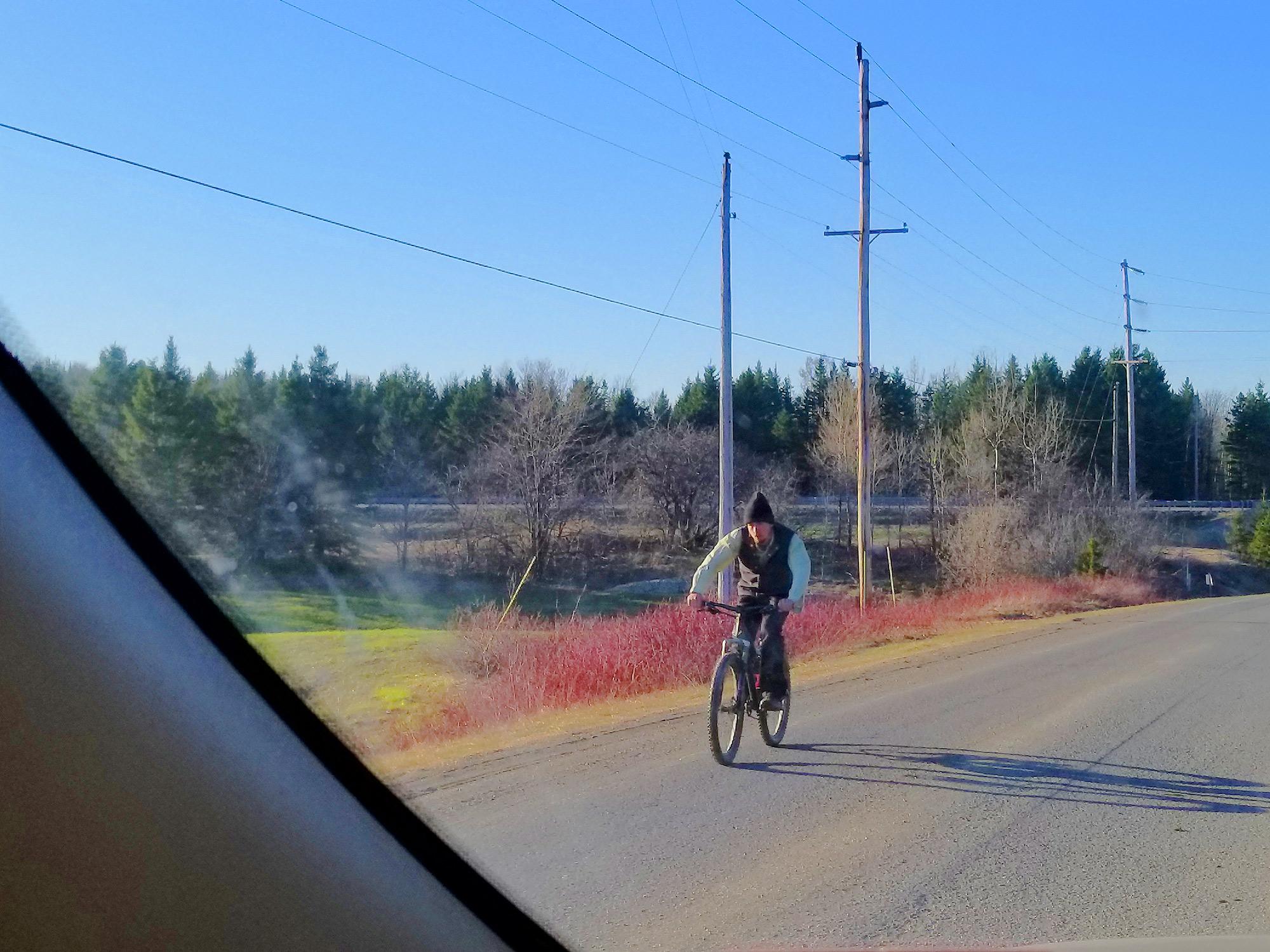 amish traffic on maine roads