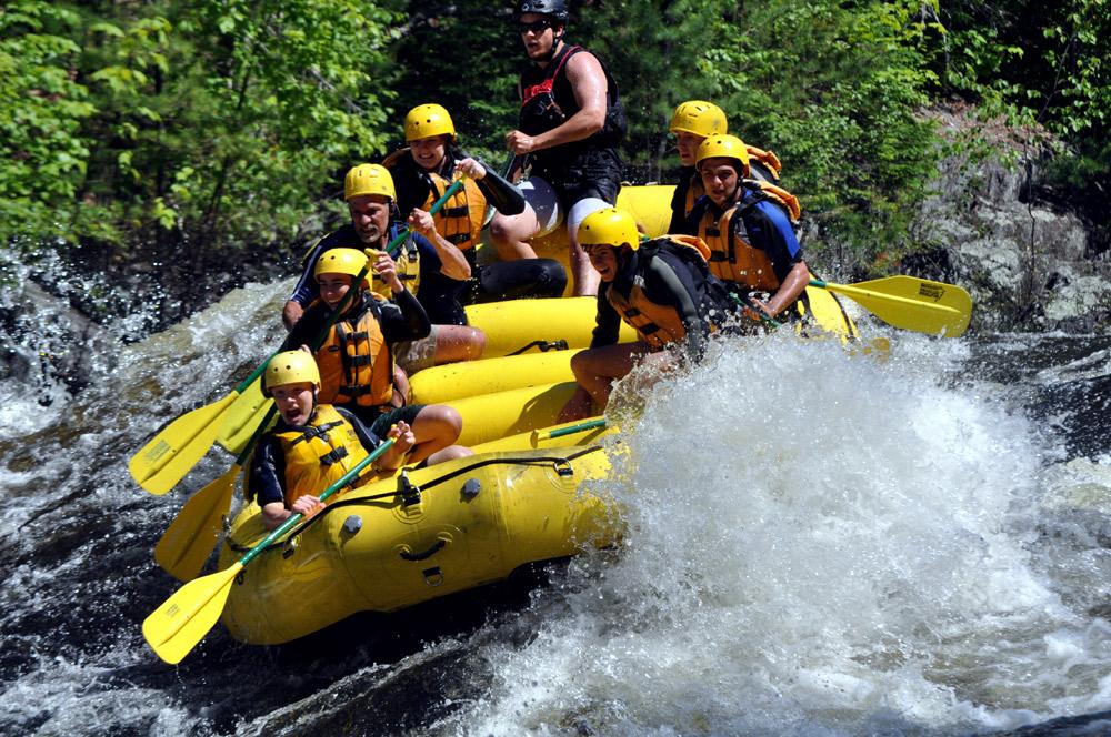 maine rafting whitewater boat