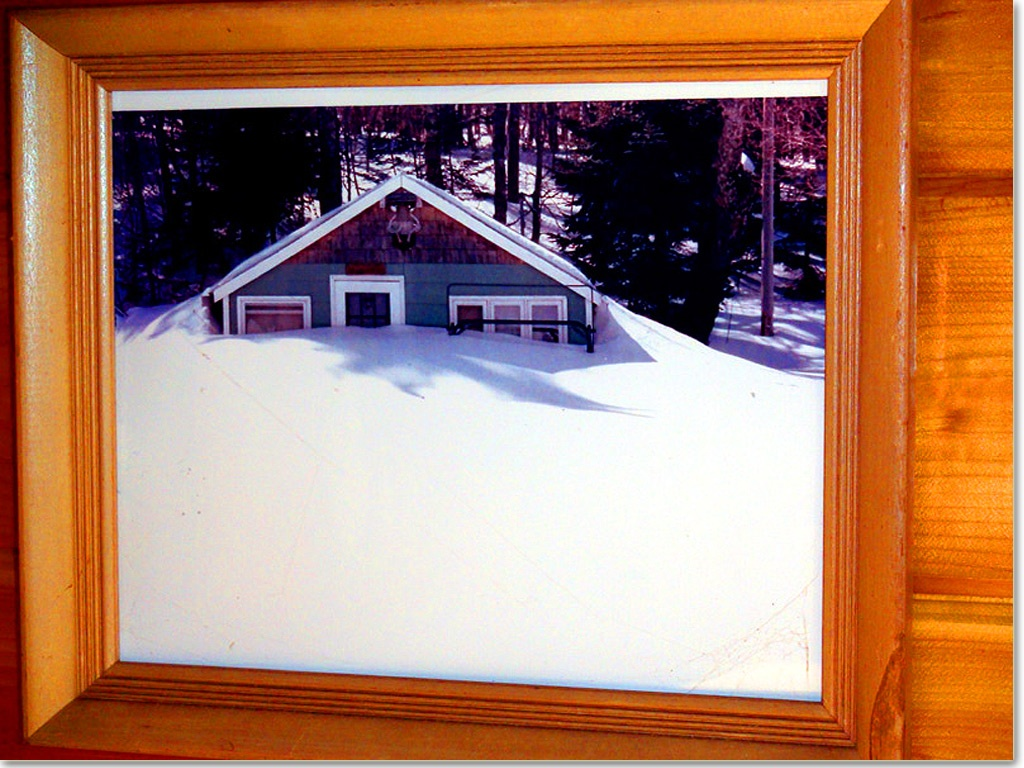 snow maine camp